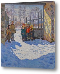 Картина Мартовское солнце, 1929