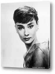 Картина Одри Хепберн в роли Ундины,1940-е.