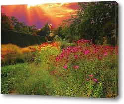 Картина Цветы осенние