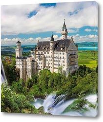 Картина Сказочный замок в Баварии