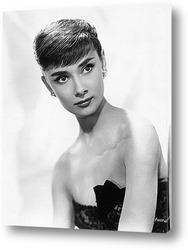 Картина Рекламное фото Одри Хепбёрн,1953г.