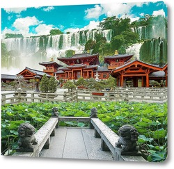 Картина Красочный сад