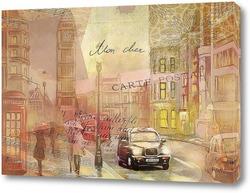 Картина Улицы Лондона