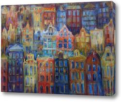 Картина Рождественские пряники Амстердама
