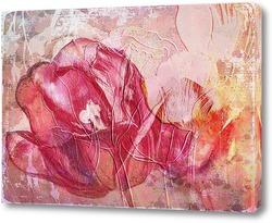 Картина Красный тюльпан