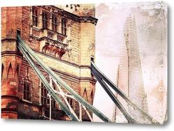 Картина Лондонский Тауэр