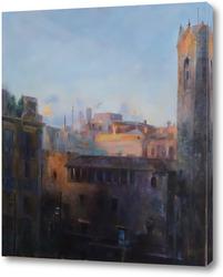 Картина Барселона - страсть Пикассо