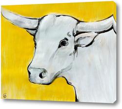 Картина Желтый бык