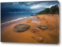 Каменистое побережье Видземе