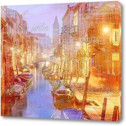 Картина Венеция винтаж