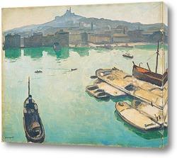Картина Порт Марселя
