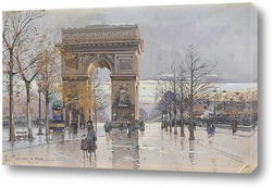 Париж.Триумфальная арка