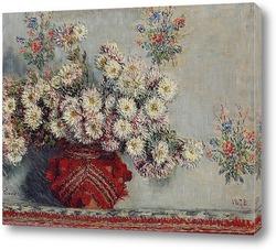Картина Хризантемы (1878)