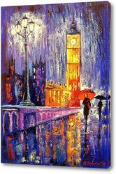 Картина Вечером в Лондоне