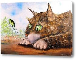 Картина Котя ( по мотивам картины В. Румянцева)