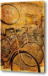 Картина Ретро велосипеды