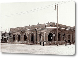Картина Угол главного проспекта, 1910