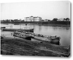 Картина Общий вид набережной 1903 ,  Россия,  Тверская область,  Тверь