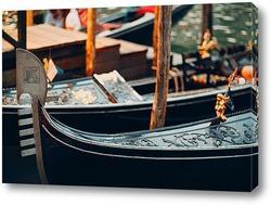 Гондола, Гранд канал, Венеция, Италия
