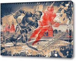 Картина Хоккейная сборная