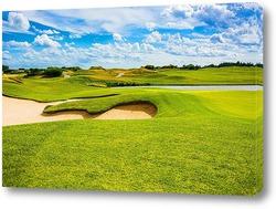 Картина Поле для гольфа