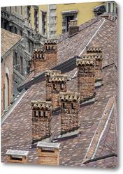 Картина Крыши Милана.