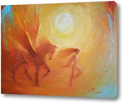 Картина Танец теплого тумана