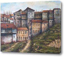 Картина Старый Тбилиси