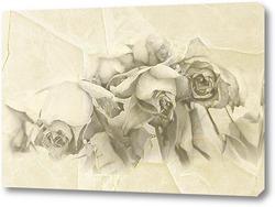 Картина Монохромные розы
