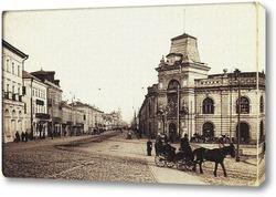 Картина Извозчик у Гостиного двора 1905  –  1917