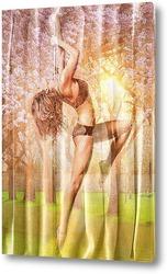 Картина танец на шесте