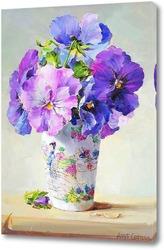 Цветочная картина для кухни