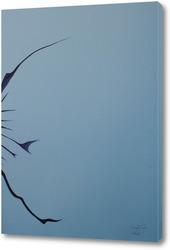 Картина Бабочка - трансформация духа. Метаморфозы - Отражение