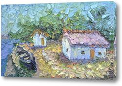 Картина Дом музей М.Ю. Лермонтова в Тамани
