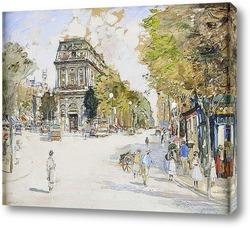 Картина Бульвар Сен-Мартен, Париж