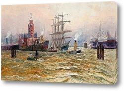 Картина Порт Гамбург