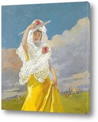 Белая Мантилья