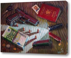 Картина Glock-17