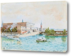 Картина Стокгольм.