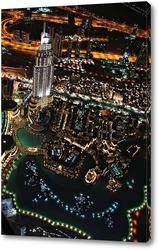 Картина Вид с самого высокого здания в мире «Бурдж-Халифа»