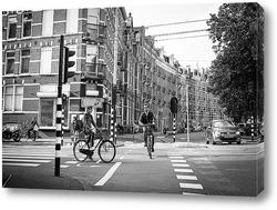 Картина Велосипедисты