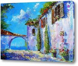 Картина Прованс с видом на море