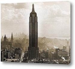 Картина Эмпайр Стэйт Билдинг, 1930