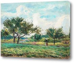 Картина Французский сад.