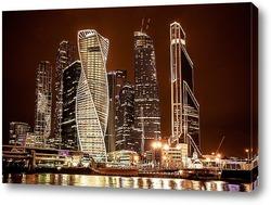 Вечер и Москва Сити