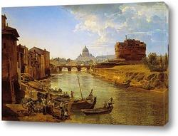 Новый Рим. Замок Святого Ангела 1825