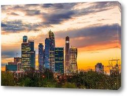 Городские высотки Москвы сити