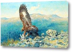 Золотой Орел с добычей