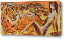 Картина Две тигрицы