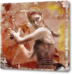 Картина Теннисистка
